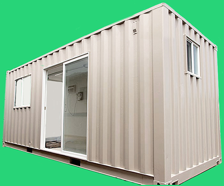 Construction office trailers portable shipping container for Portable shed office