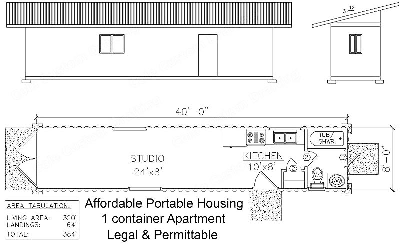 Container Home Design Plans affordable housing container home plans